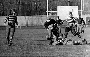 Ottawa Rough Riders - The Ottawa Rough Riders playing the Toronto Argonauts in 1924