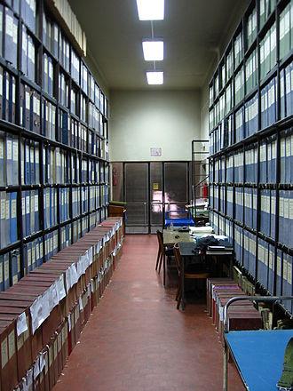 Archive of Serbia - Image: Arhiv Srbije depo