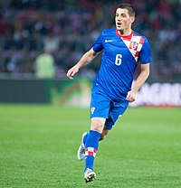 Arijan Ademi - Croatia vs. Portugal, 10th June 2013 (cropped2).jpg