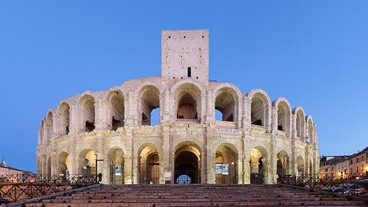 Roman Amphitheatre in Arles, France