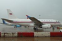 Armenian Government Airbus A319 EK-RA01 at LHR (6188669784).jpg