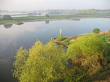 Tipico paesaggio dei Paesi Bassi.