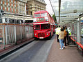 Arriva London North Routemaster bus RML2525 (JJD 525D), route 38, London Victoria station, 16 September 2005.jpg