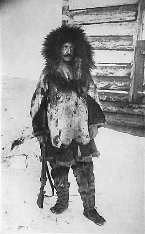 Владимир Арсеньев во время зимней экспедиции