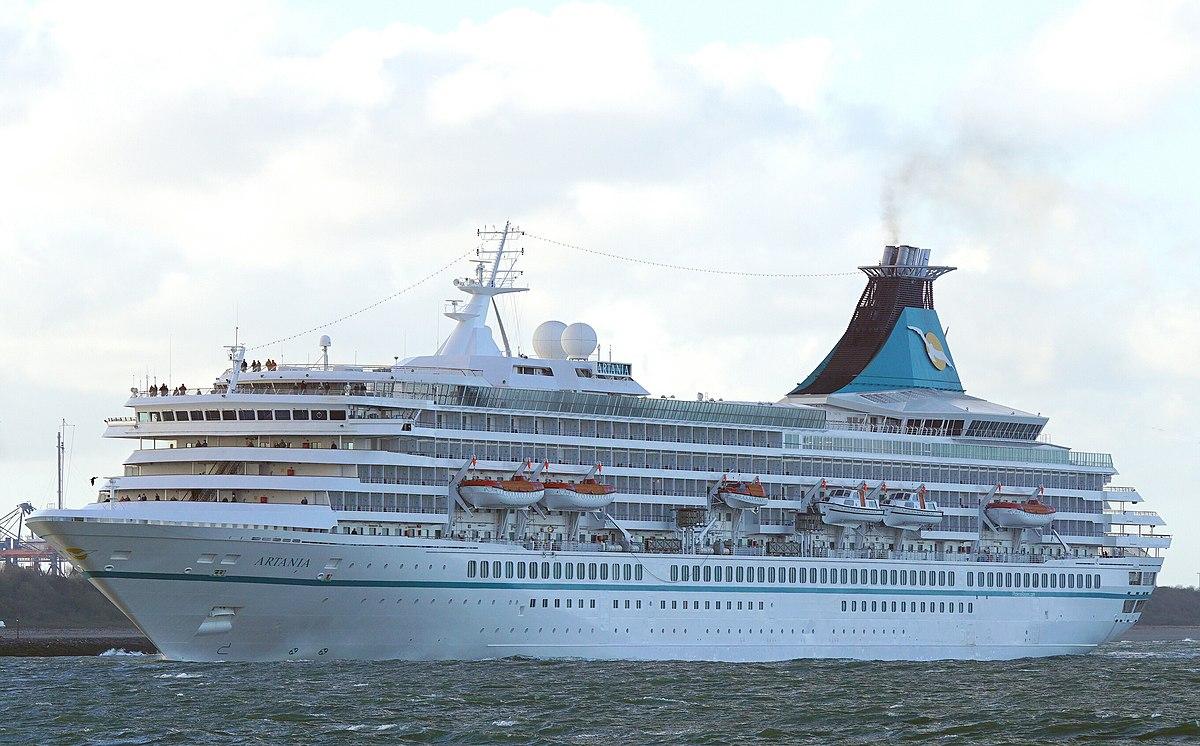 MV Artania Wikipedia - Amadea cruise ship itinerary