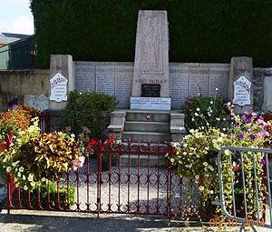 Artas, Isère - Artas War Memorial