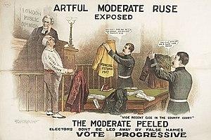 Progressive Party (London) - Progressive election poster, 1907