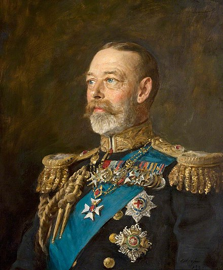 Portrait by Arthur Stockdale Cope, 1933 Arthur Stockdale Cope - George V 1933.jpg