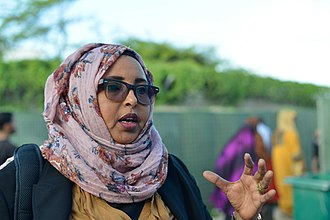 Galkayo - Gakayo native Asha Gelle Dirie, a former minister in the Puntland government.