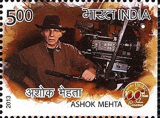 Ashok Mehta Indian film cinematographer