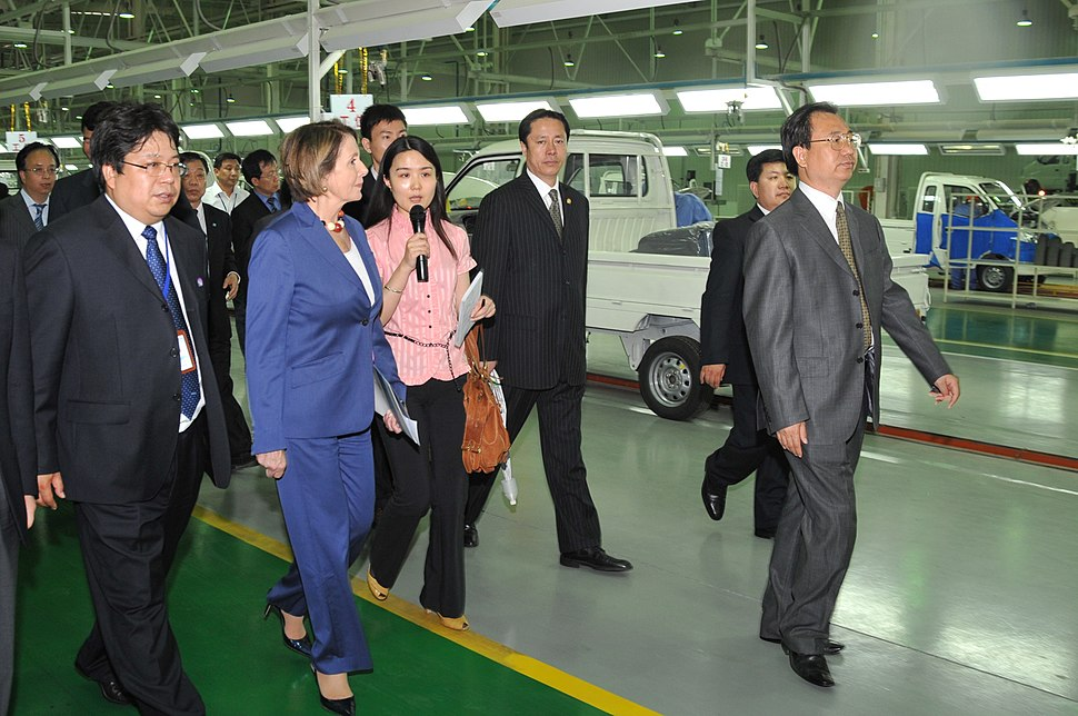 At an Electric Car Factory in Tianjin, China