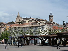 Aubagne city center