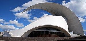 Asymmetry - Image: Auditorio de Tenerife Pano