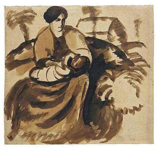 August Macke Mutter und Kind 1910