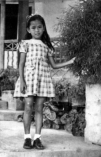 Aung San Suu Kyi - Aung San Suu Kyi at the age of 6