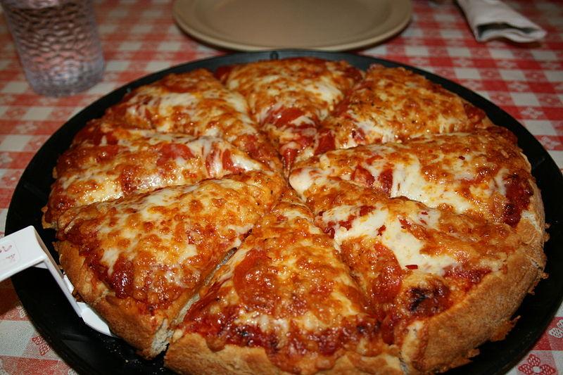 Рецепт пиццы на сковороде фото пошагово
