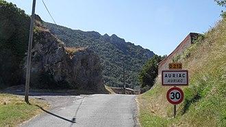Auriac, Aude - Image: Auriac