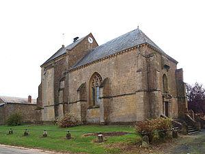 Authe - The Church of Saint-Martin