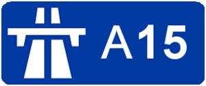 A15 autoroute - Image: Autoroute A15