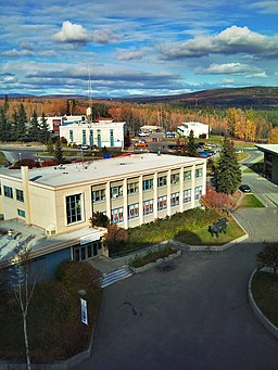 Autumn UAF campus - panoramio