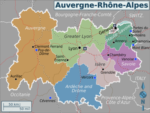 Auvergne Rhone Alpes Travel Guide At Wikivoyage
