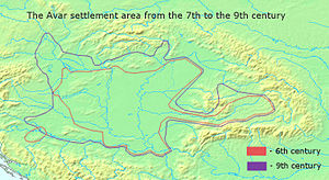 Samo - The Avar settlement area in the Carpathian Basin from the 7th to the 9th century, according to Éva Garam