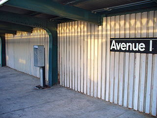 Avenue I NYC Subway Station by David Shankbone.JPG