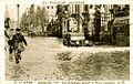 Avignon inondation 1935 rue de la République devant musée lapidaire.JPG