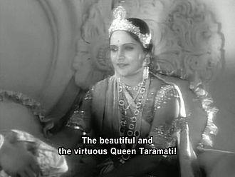 Durga Khote - Khote as Taramati in Ayodhyecha Raja.