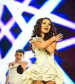 Aysel Teymurzadehl Eurovision Song Contest 2012, semi-final allocation draw.jpg