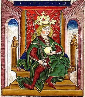 Béla I (Chronica Hungarorum).jpg