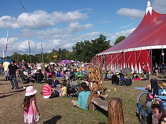 Beautiful Days (festival) - Image: BD Big Top