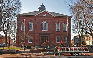 National Register of Historic Places listings in Harford County, Maryland - Image: BEL AIR COURTHOUSE HISTORIC DISTRICT, HARFORD COUNTY
