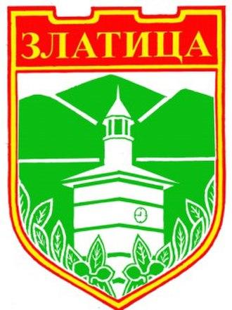 Zlatitsa - Image: BUL Златица COA