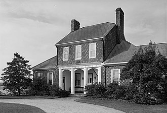 National Register of Historic Places listings in St. Mary's County, Maryland - Image: Bachelors Hope 1937