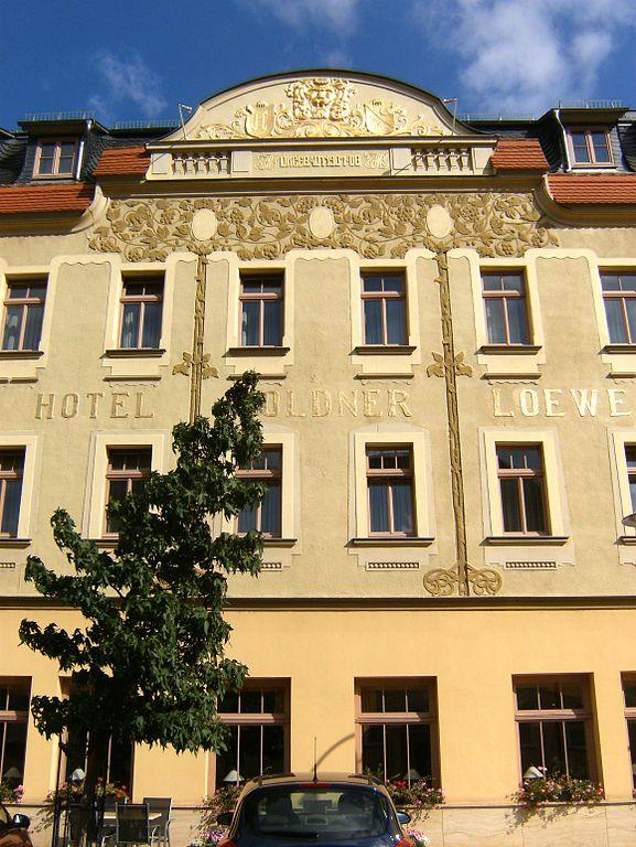 Hotel Goldner Loewe Heinrich Schutz Stra Ef Bf Bde  A  Bad Kostritz Deutschland