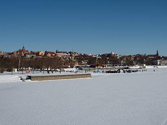 Östersund - Lakeside view of Östersund