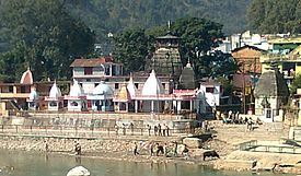 Bagnath Temple, at the junction of Gomati and Sarju