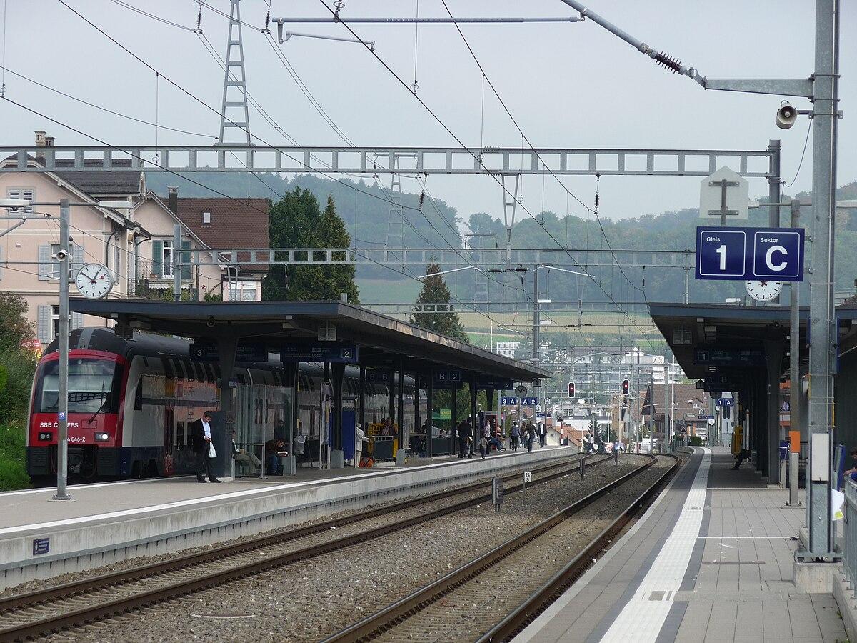 Affoltern am albis railway station wikidata for Innendekoration affoltern am albis