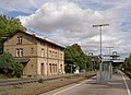 Bahnhof Ditzingen mit Bahnsteig.jpg