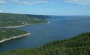 Baie-Comeau - St-Pancrace Bay