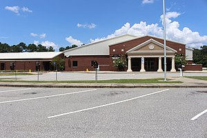 Baker County, Georgia - Baker County School System school building