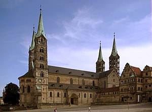 History of Bavaria - Bamberg Cathedral, completed in the 13th century.