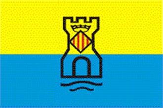 Castelldefels - Image: Bandera Castelldefels