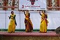 Bangladesh Udichi Shilpigoshthi - Chittagong University Sangsad celebrating Pohela Falgun 1423 at CU Muktomoncho (03).jpg
