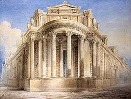 Bank of England (soane) - North West Angle by JM Gandy.jpg