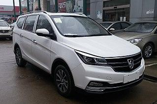 Baojun 730 Compact MPV model from SAIC-GM-Wuling