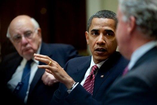 Barack Obama at PERAB meeting 2009-05-20