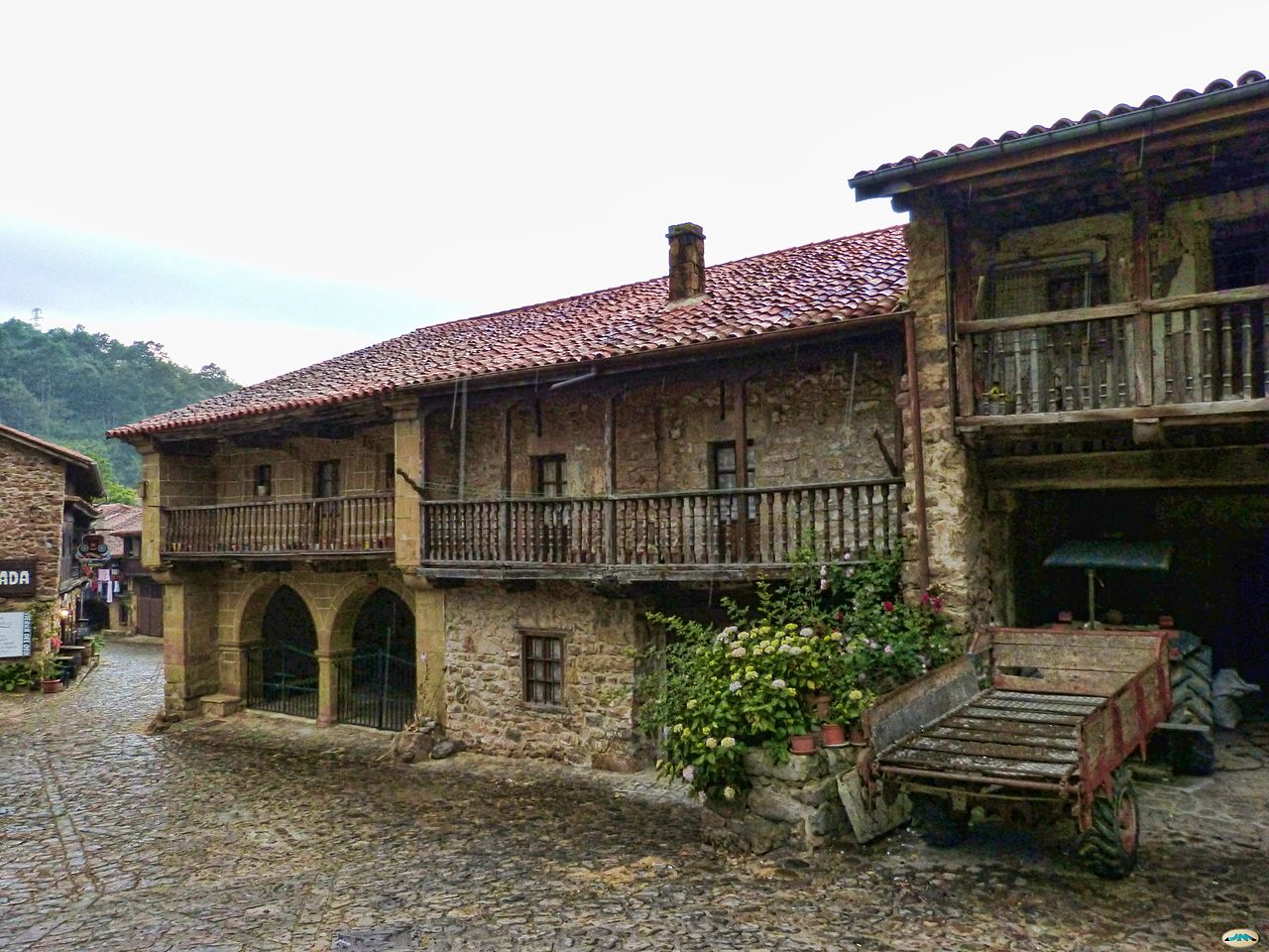 Casas en Bárcena Mayor.