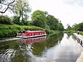 Barge on the Forth and Clyde Canal - geograph.org.uk - 1331836.jpg